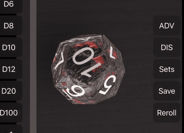 Dice by PCalc will never leave you without a saving throw
