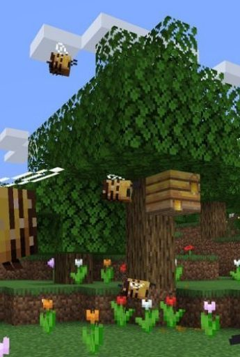 Minecraft now has bees