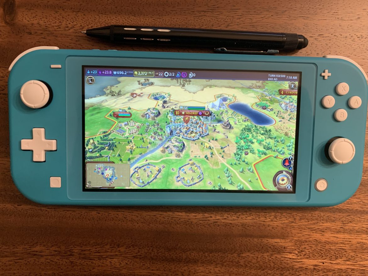 The Nintendo Switch Lite is a gaming console for adults