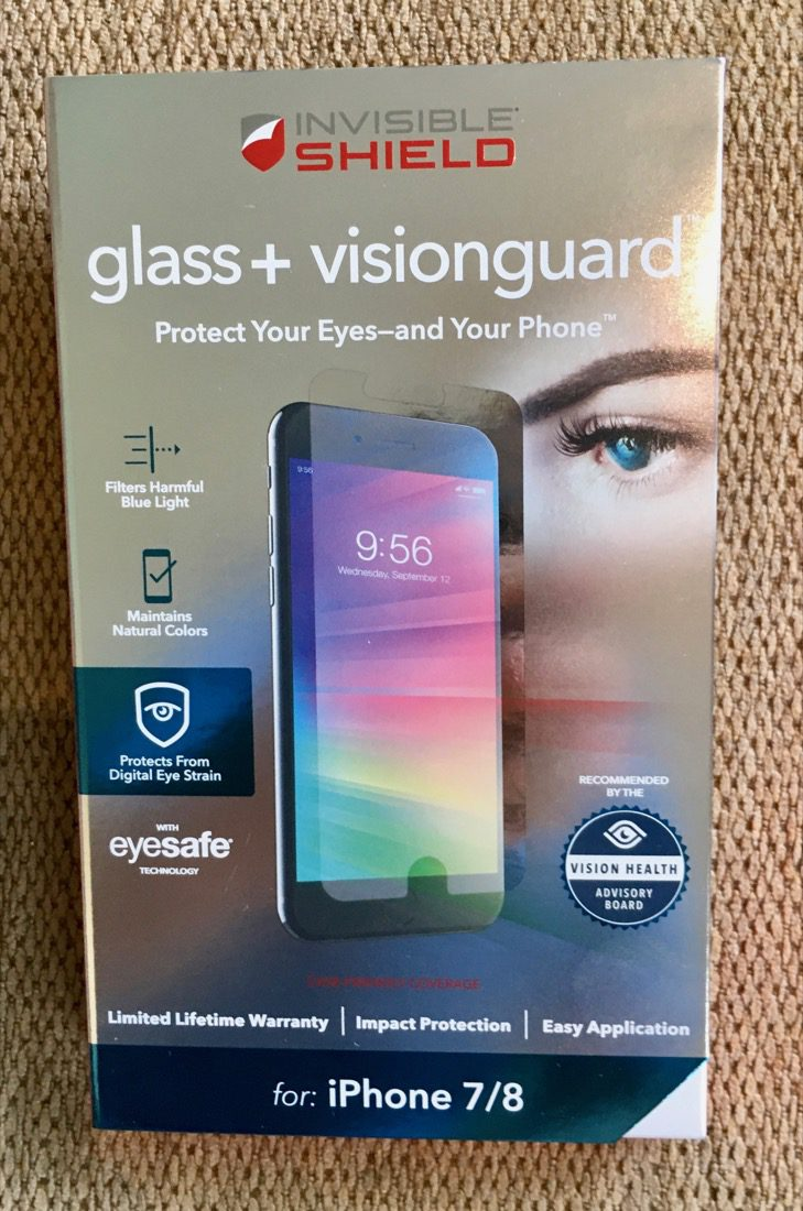 Extra protection comes via the Invisible Shield Glass+ VisionGuard