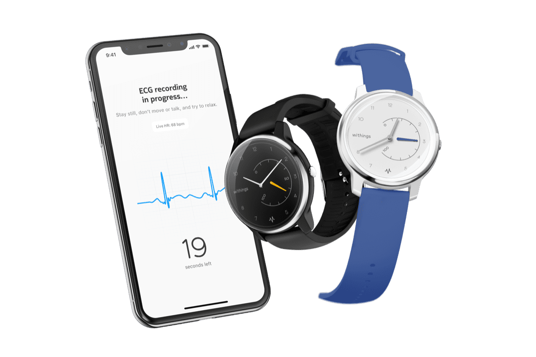 Withings watches your heart ticking as your watch does