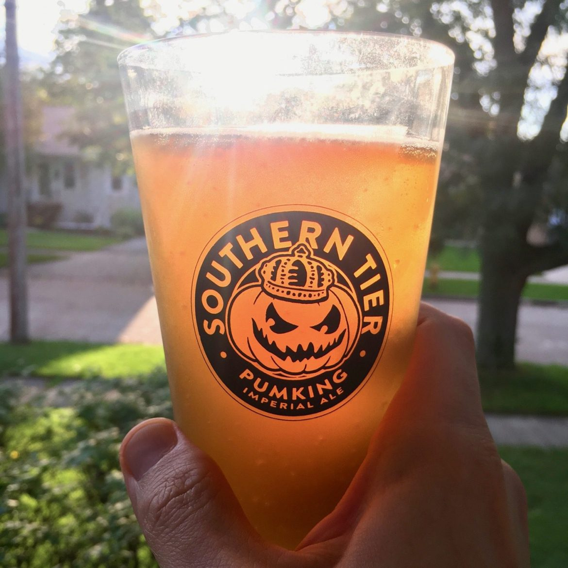 The Afternoon Beer Break:  Southern Tier Pumking