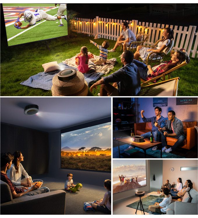 The Nebula Cosmos Max is a 4K projector with amazing sound