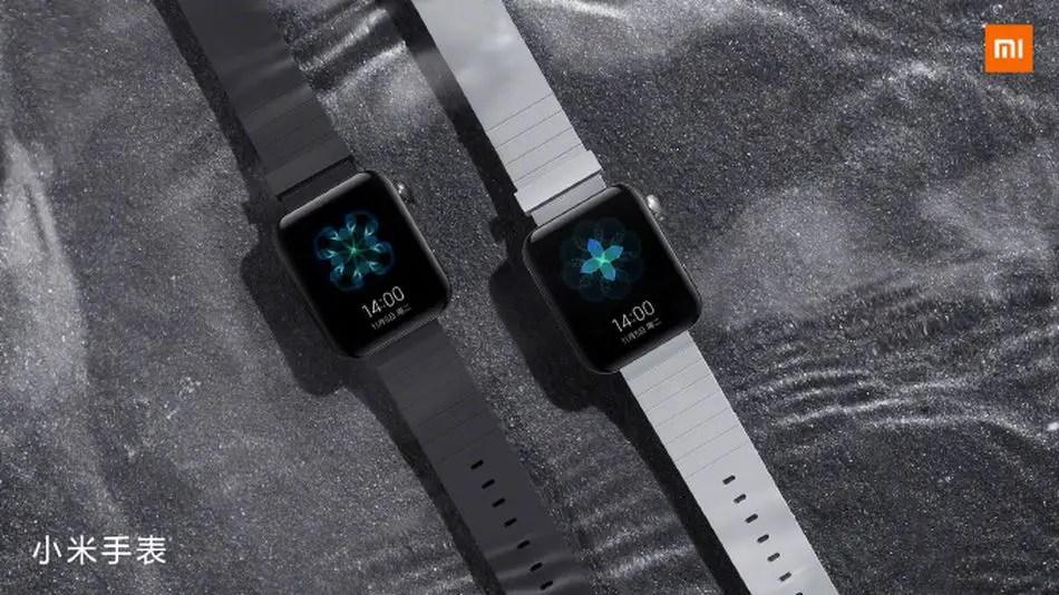 The Xiaomi Mi watch is oddly familiar