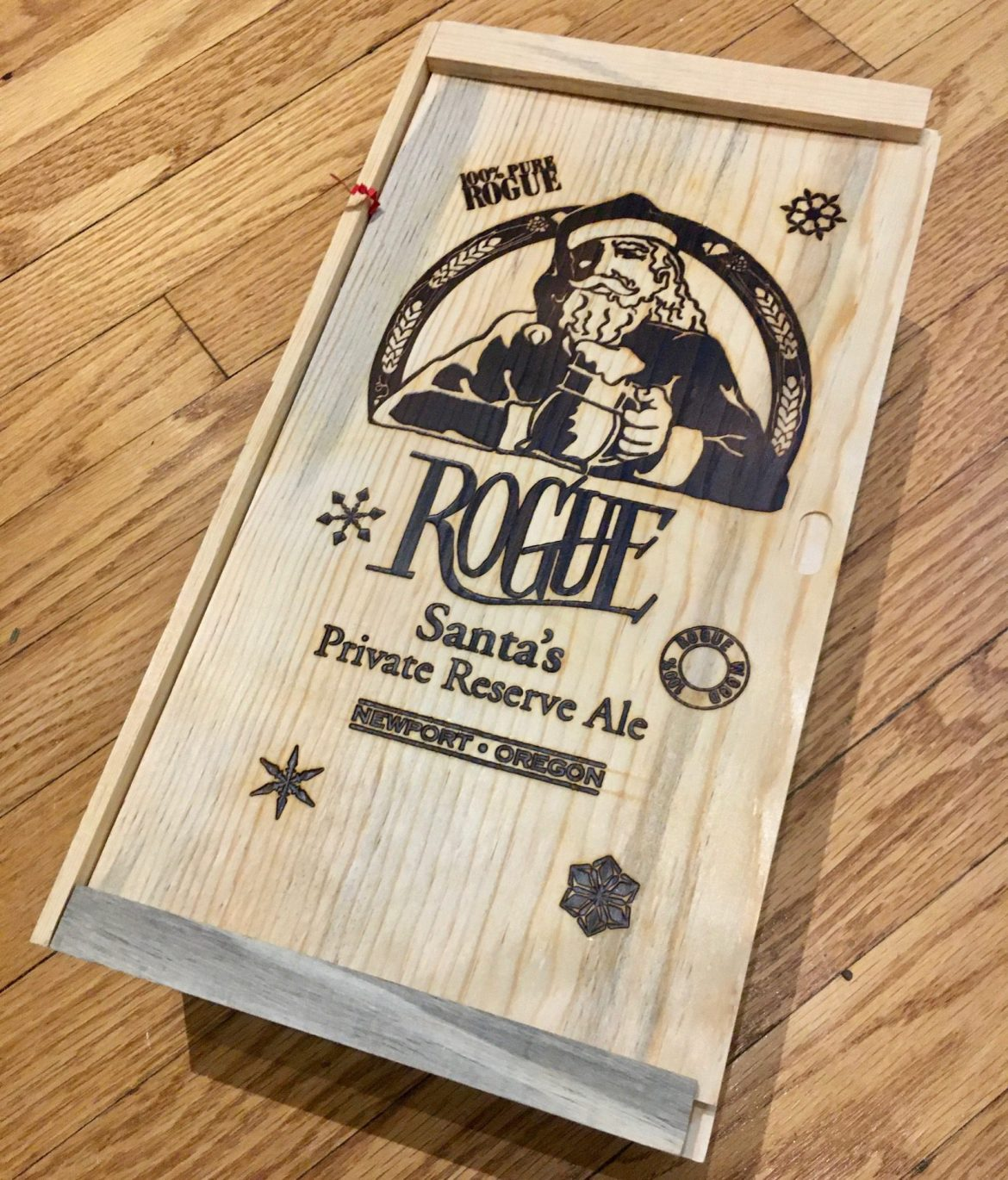 Afternoon Beer Break:  Rogue Santa?s Private Reserve