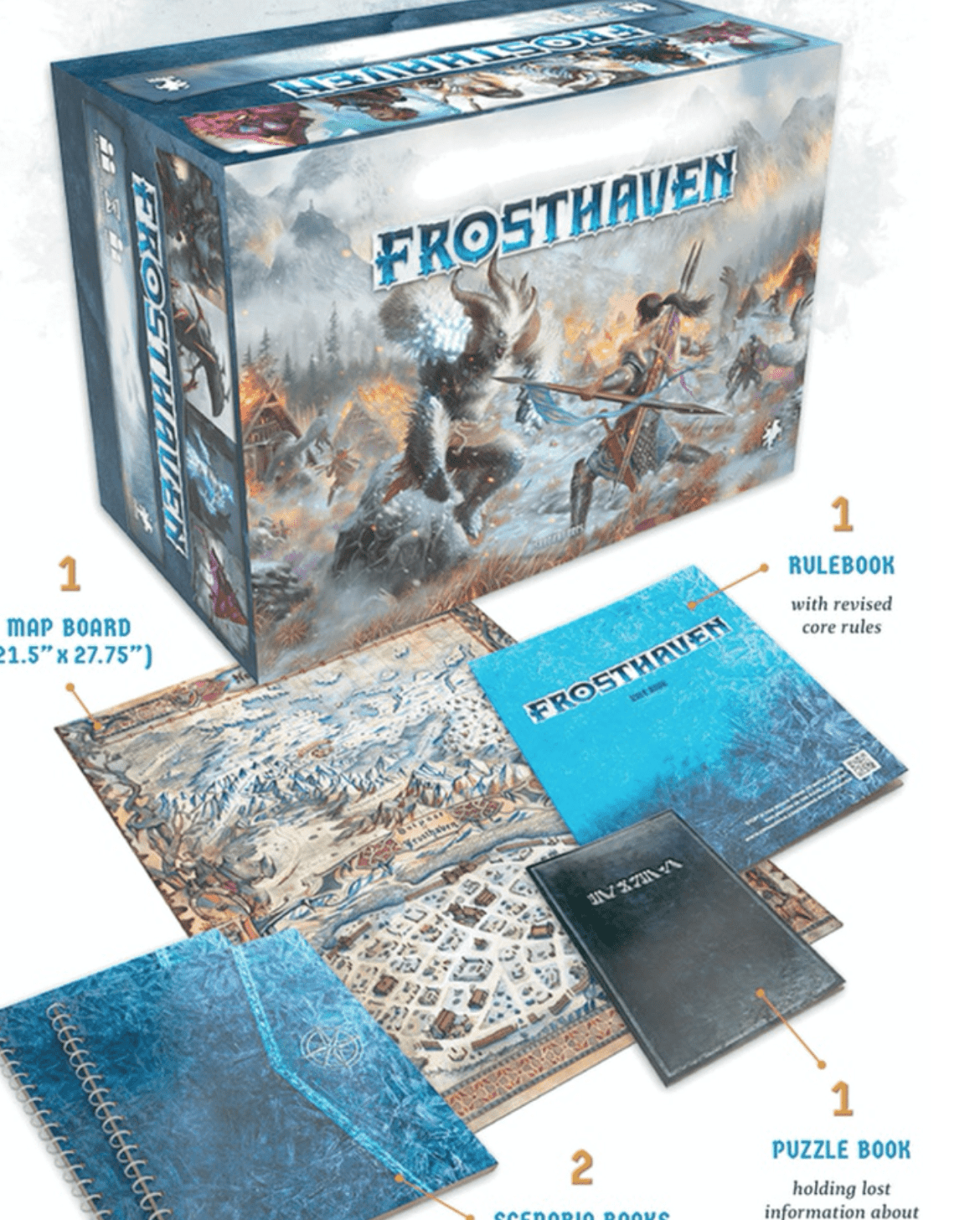 Gloomhaven gets a sequel: Frosthaven