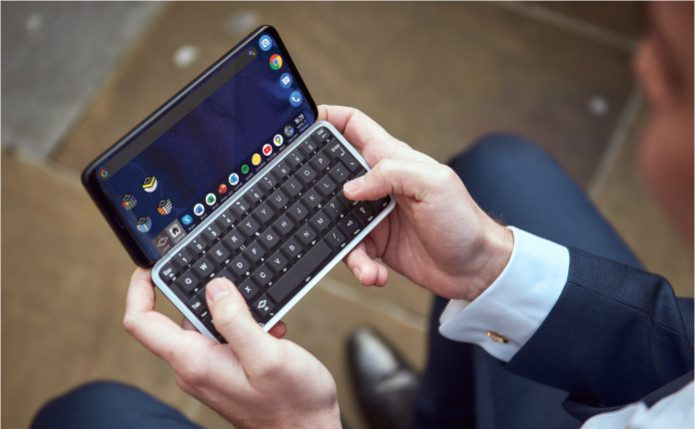 Astro-Slide is a 5G Android phone with full keyboard. Do you miss phone keyboards?