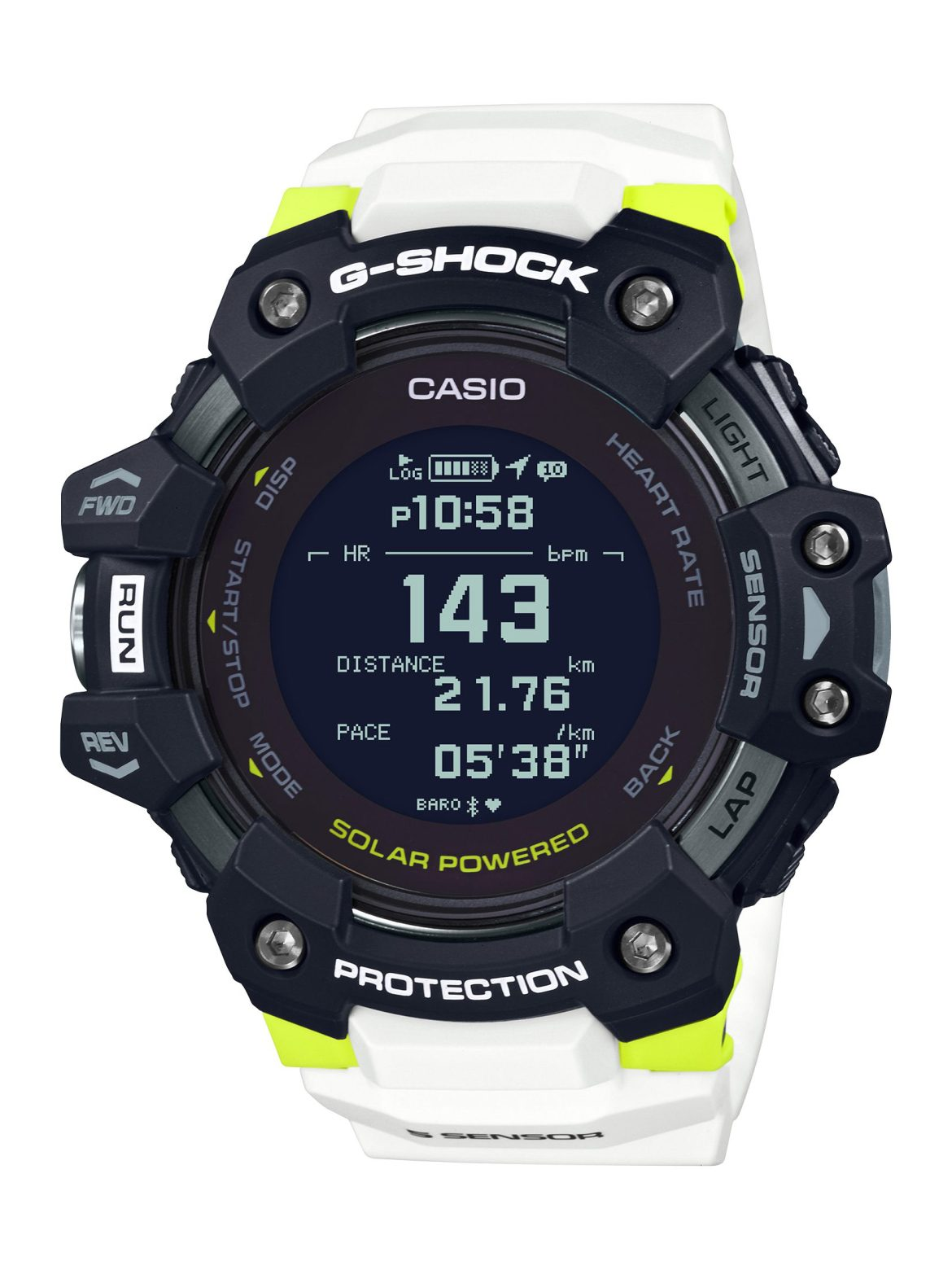G-Shock adds a heartrate sensor for the very first time