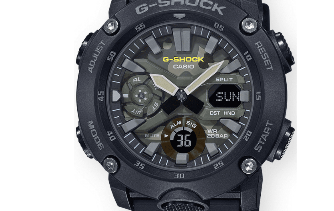 Casio's Utility Color G-Shock  GA-2000 should be in your everyday carry