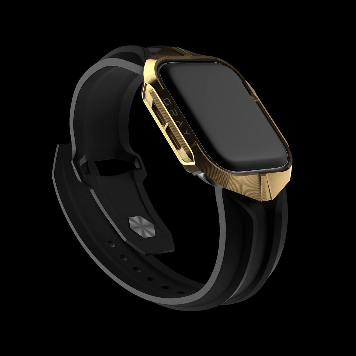Gray has luxury Apple Watch cases and bands