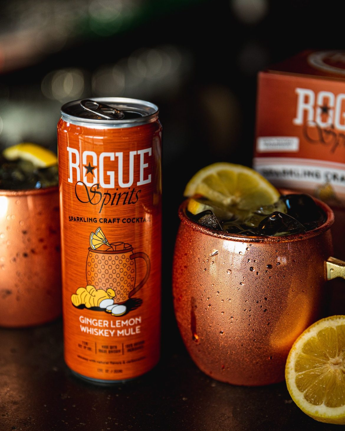 Instead of a beer, why not a Rogue canned cocktail?