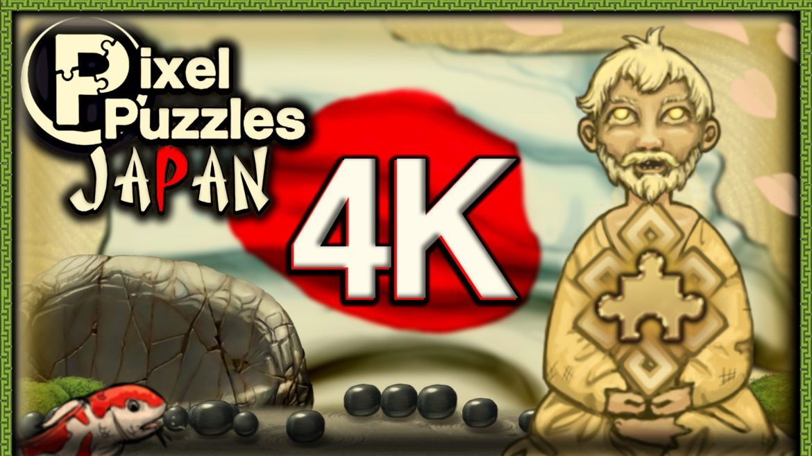 Pixel Puzzles 4K: Japan – now available on Steam