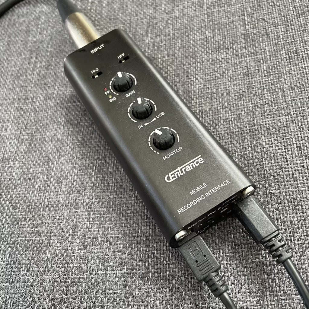 Reviewing a high-class audio recording interface – the CEntrance MicPort Pro 2