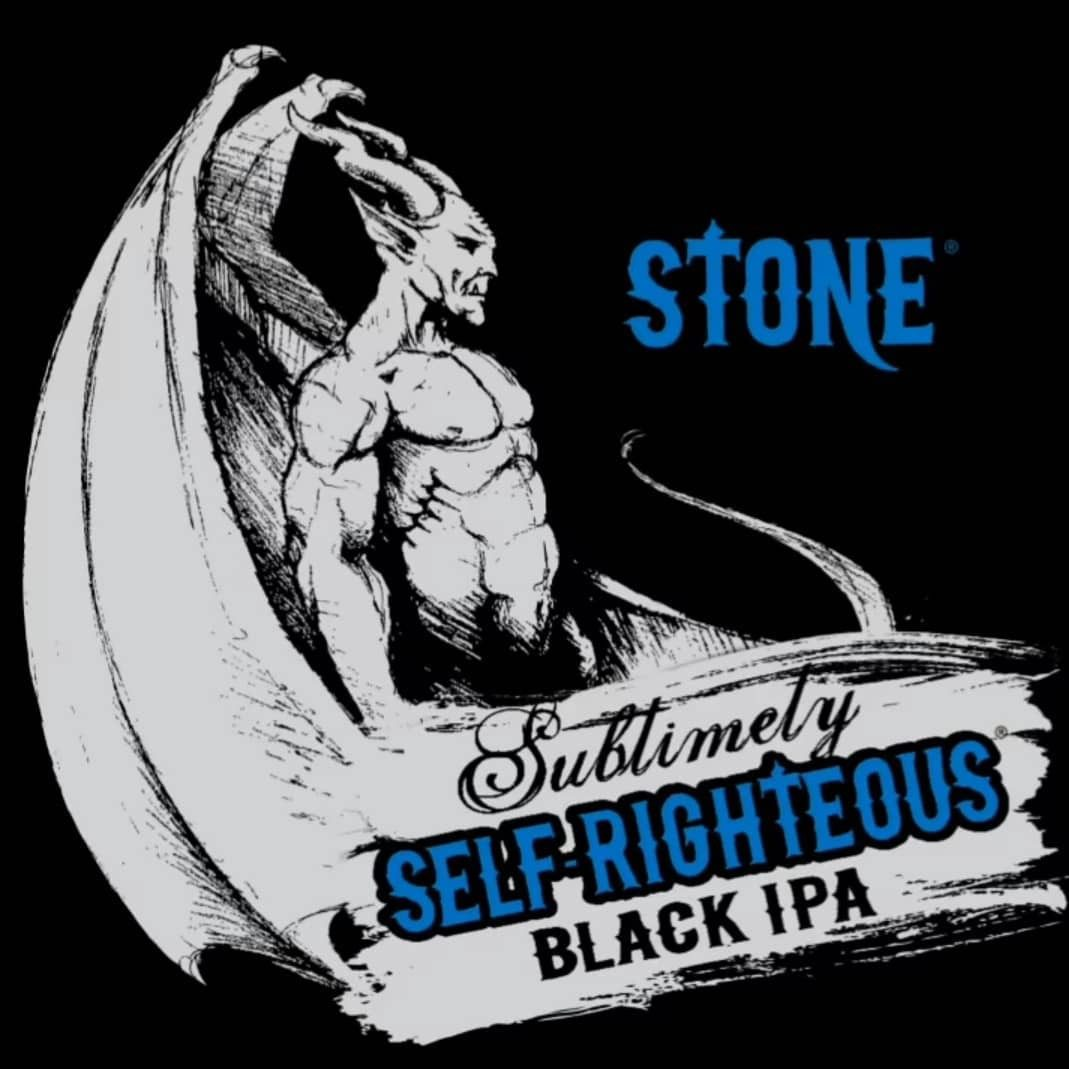Afternoon Beer Break: Stone Sublimely Self-Righteous Black IPA