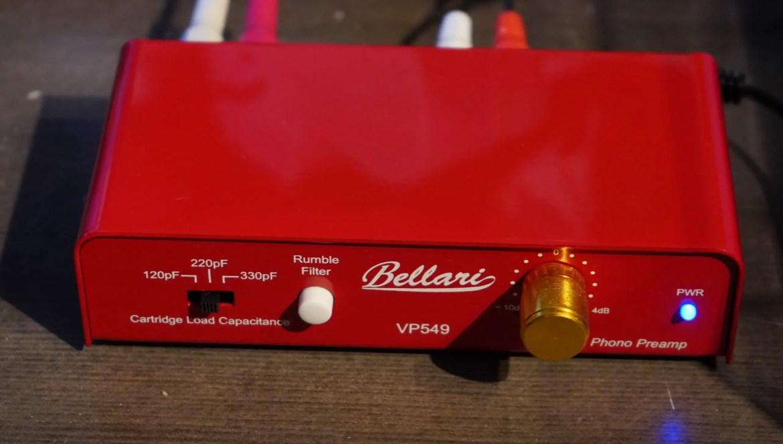 In Review: Bellari VP549 Phono Preamplifier