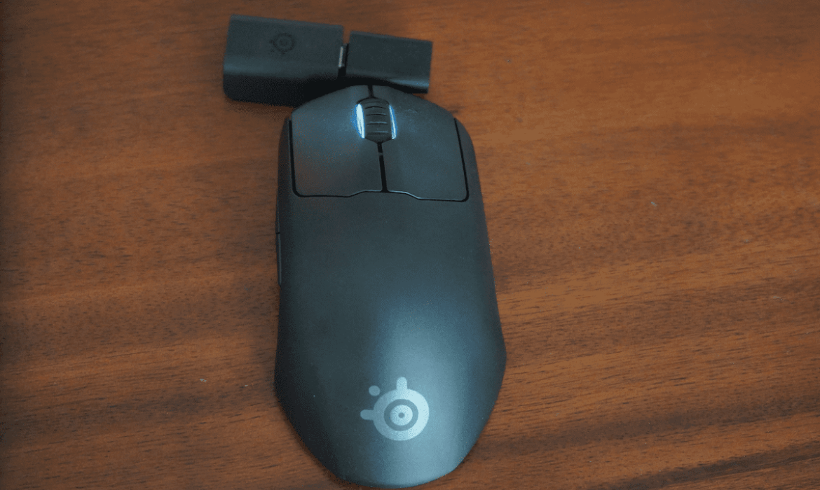 In Review: The Steelseries Prime Wireless Mouse