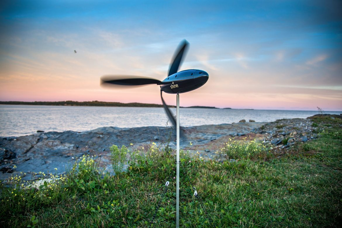 Shine launches portable wind power, for adventurers