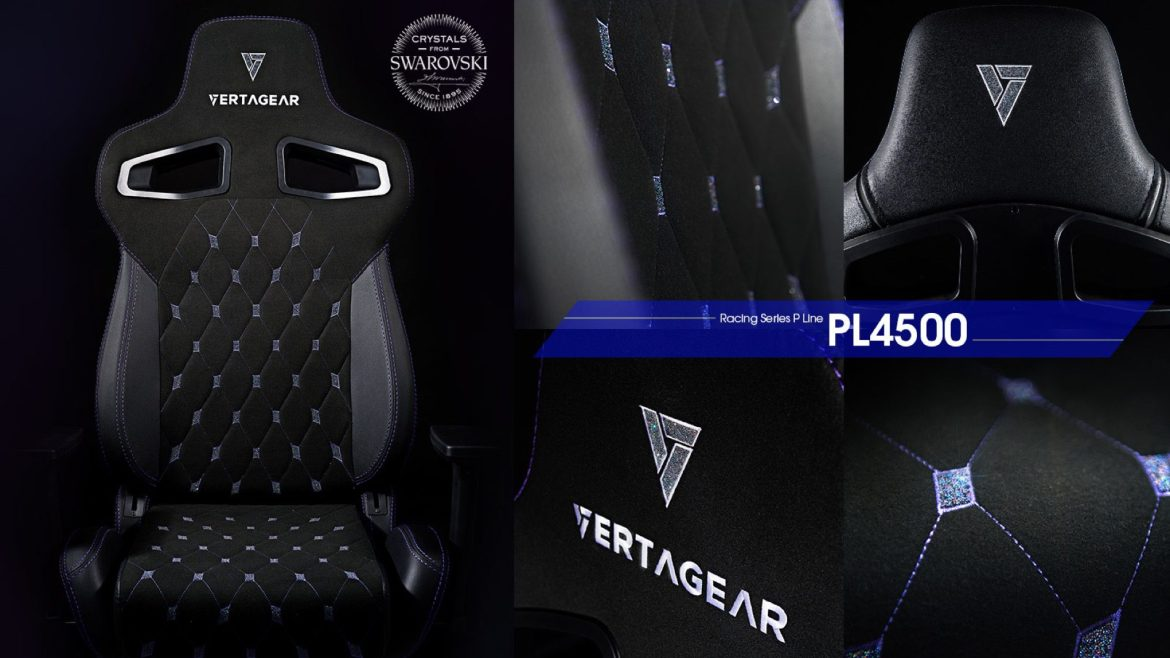 For when you want your chair to be Extra – the Vertagear x Swarovski