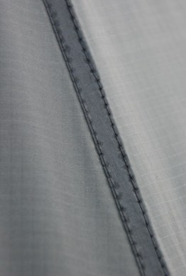 Neat straight stitching