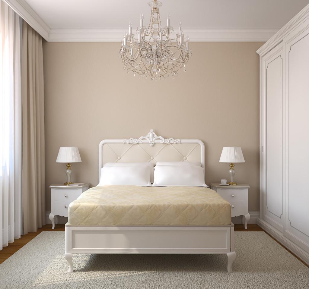 Urzdzamy  sypialnia w stylu glamour  Kanufmag