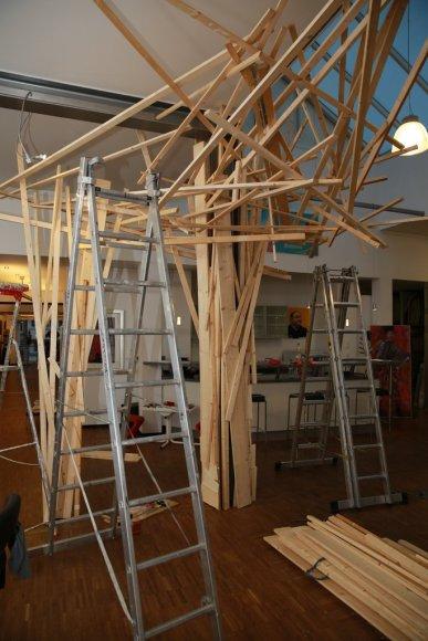 Aufbau der Installation