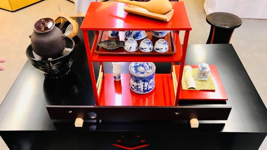 小笠原流煎茶道の茶席
