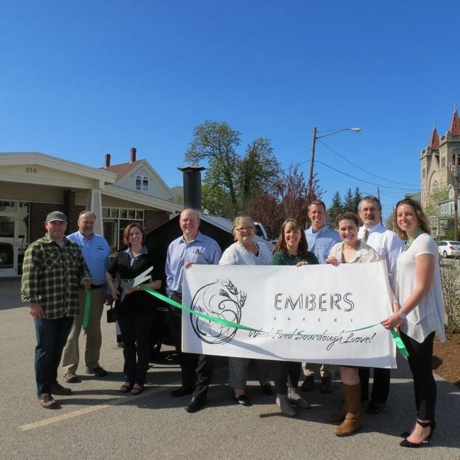 Congratulations to Technical Assistance Grant Recipient Embers Bakery