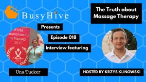 Una & Krys get chatty about massage competitions