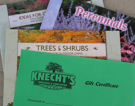 Gift Certificates are available year round