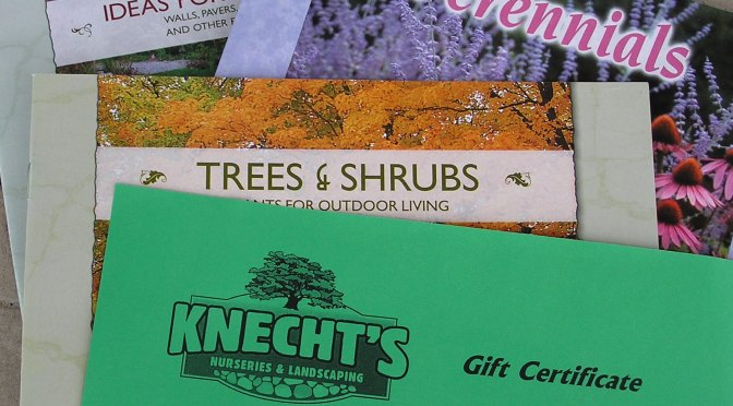 The ABC's of Knecht's Gift Certificates