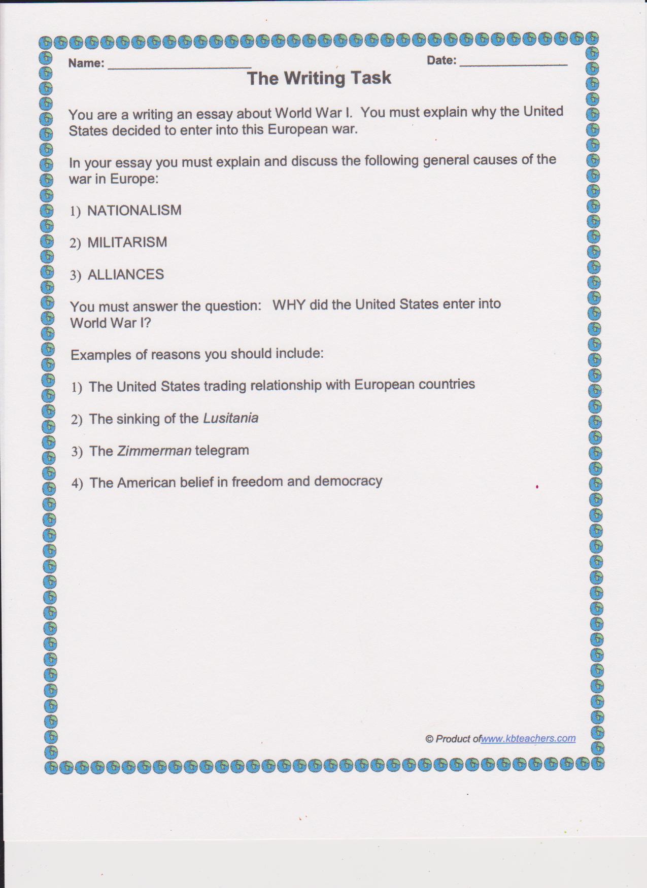 Essay Type In Ielts