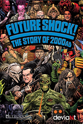 Image result for futureshock the story of 2000ad poster