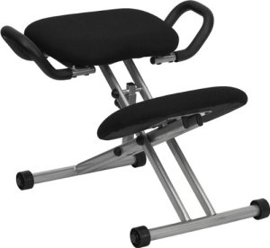 Seat with handles