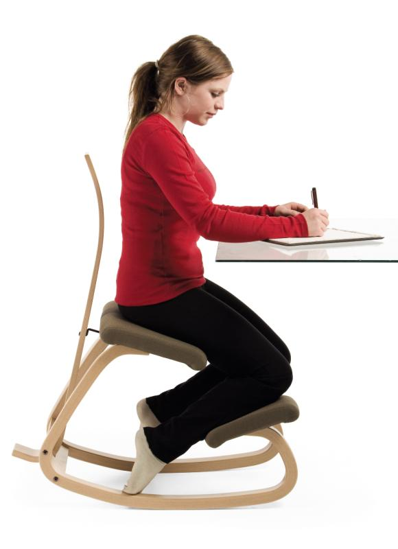 best office chair for posture swing indoor review: varier balans kneeling review