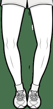 bow legs (bilateral)
