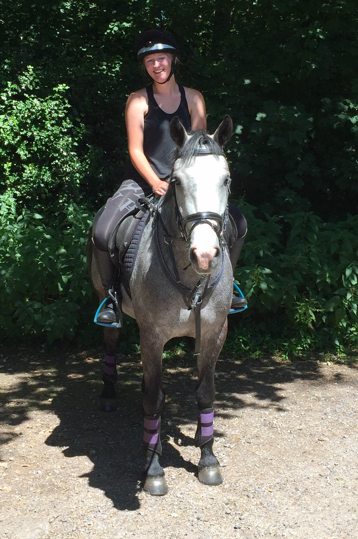 Riding after cruciate surgery