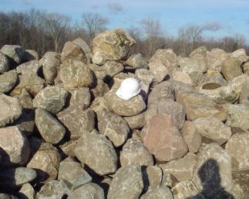Large Native Boulders