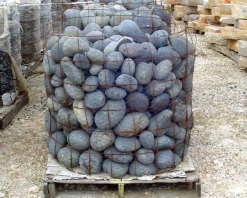 Mexican Beach Pebbles 3%22 to 5%22 stones