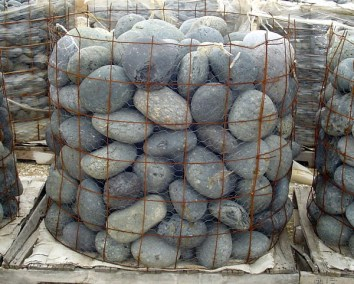 Mexican Beach Pebbles 6%22 to 8%22 stones