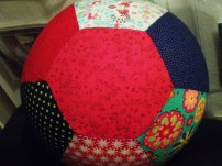 top cap with 6 fabric panels