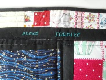 Ahmet sent fabrics twice!