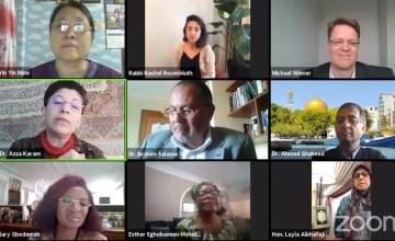 Departamenti i Gruas në Këshillin Ndërfetar të Shqipërisë takim online me forumet ndërkombëtare të gruas në botë