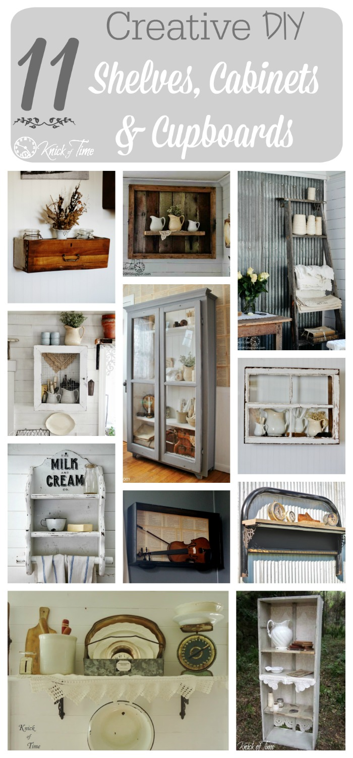 primitive kitchen cabinets best cabinet ideas diy from a repurposed wooden crate and ...