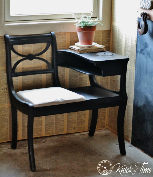 folding chair for child vinyl dining room covers furniture makeovers | knick of time
