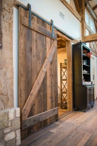 DIY Barn Door Wall Cabinet via KnickofTime.net