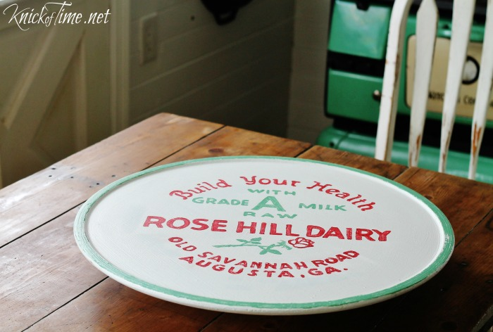 lazy Susan makeover Knick of Time