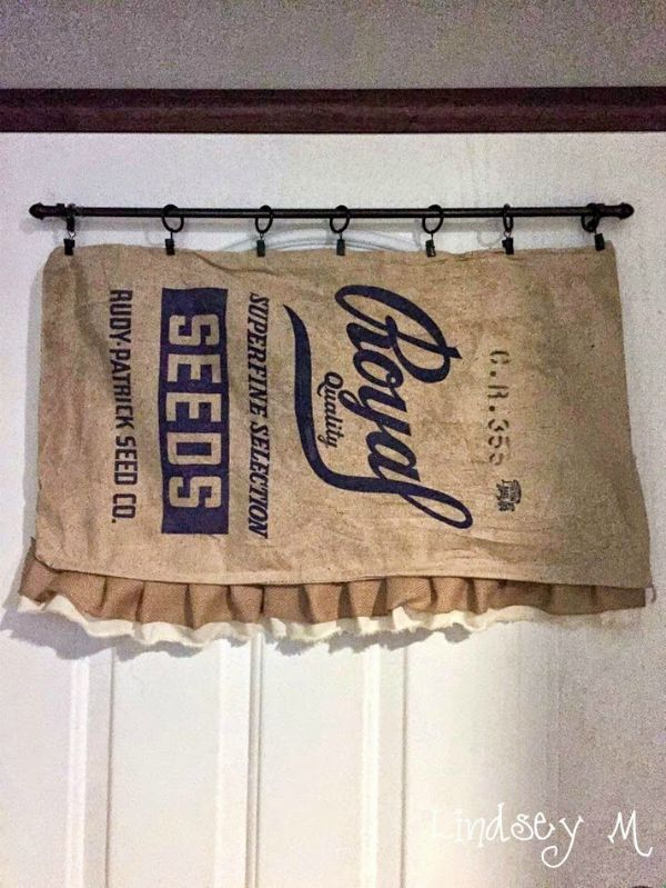 Farmhouse Friday 13  Grain Sacks Feed Bags and Burlap