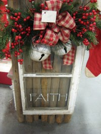Farmhouse Friday - Repurposed Christmas Decor - Knick of Time