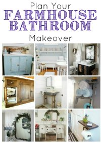 Farmhouse Bathrooms and Projects | Knick of Time