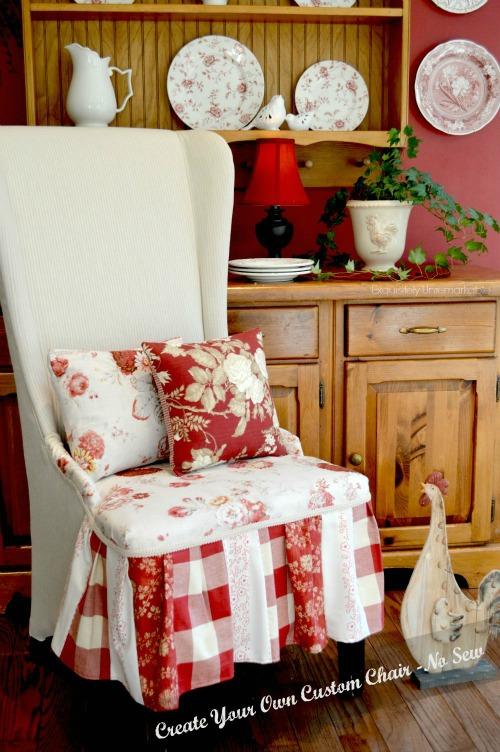 Easy Custom Upholstered Chair